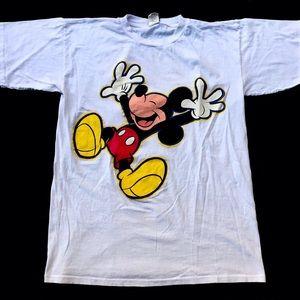 Vintage Mickey Mouse Disney Shirt Single Stitch